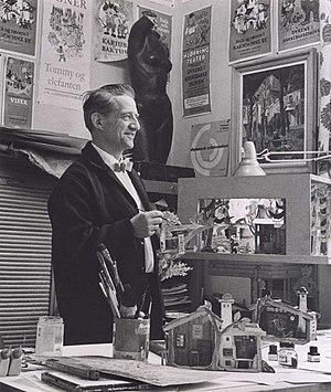 Thorbjørn Egner - Thorbjørn Egner c. 1961. Photo: Oslo Museum