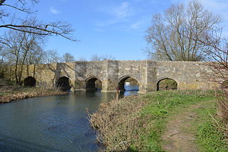 Thornborough Bridge Grade I listed building in Aylesbury Vale, United Kingdom