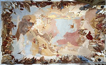 Small Tapestry On Ceiling
