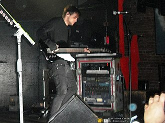 Tim Kelleher (musician) - Kelleher performing with Thirty Seconds to Mars in Baton Rouge, Louisiana in February 2010