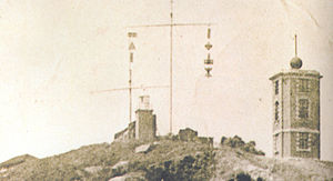 Blackhead Point - Image: Timeballs on Blackhead Point