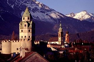 Hall in Tirol Place in Tyrol, Austria