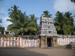 Sundararaja Perumal temple building in India