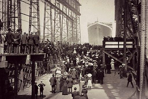 Titanic Launching Belfast May 31 1911