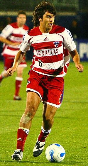 Juan Toja - Juan Toja with FC Dallas