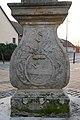 Tolna, Hősök terei Nepomuki Szent János-szobor 2020 17.jpg
