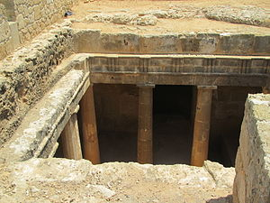 Tombs of the Kings (Paphos) - Image: Tombs of the Kings by Paride 2