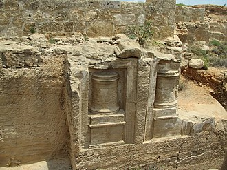 Tombs of the Kings (Paphos) - Image: Tombs of the Kings by Paride 8