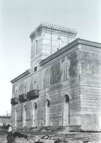 Alcamo Marina - The ancient building for tuna fishing activities located in Alcamo Marina.