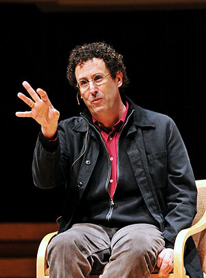 Tony Kushner - Kushner speaking at the University of Maryland in 2011.