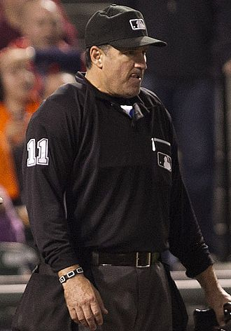 Tony Randazzo (umpire) - Randazzo in 2012
