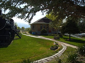 Tooele, Utah - The Tooele Valley Railroad Complex historic site