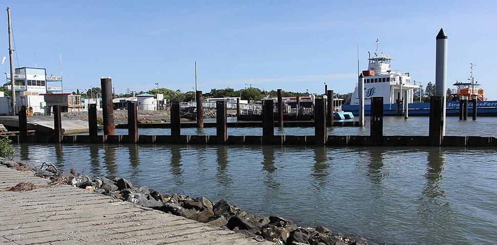 Toondah Harbour From Public Boat Ramp , Cleveland, Queensland, 2014