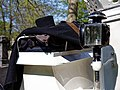 Top hat and coat Horse drawn hearse City of London Cemetery 2.jpg