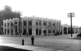 Gray Coach - Image: Toronto Coach Terminal 1931
