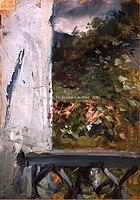 Toulouse-Lautrec - CELEYRAN. BALCON SUR LE PARC, 1879, MTL.11.jpg