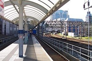 Tower Gateway DLR station - Image: Tower Gateway DLR station 2