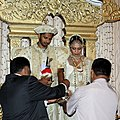 Traditional Sinhalese Marriage-Poruwa Ceremony IV.jpg