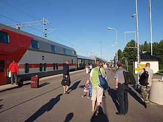 Rovaniemi - Rovaniemi railway station