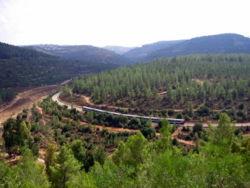 הרכבת לירושלים בנחל רפאים