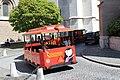 Train touristique place Taconnerie Genève 2.jpg