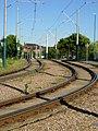Tram tracks, Whitemoor - geograph.org.uk - 875401.jpg