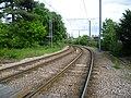 Tramlink east of Wandle Park Tramlink Stop (geograph 2959171).jpg