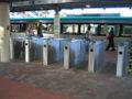 Transperth Fare gates Perth Train Station.jpg