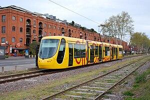 Tranvía del Este - Image: Tranvía del Este (Buenos Aires, septiembre 2008)