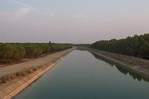Tagus-Segura Water Transfer - Tagus-Segura Transfer in its passage through Albacete.