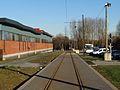 Travaux de la branche vers Vieux-Condé de la ligne B du tramway de Valenciennes en décembre 2013 (299).JPG