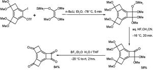 Tricyclobutabenzene - Polyoxygenated tricyclobutabenzene