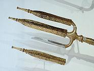 Trident, Burmese, 18th century