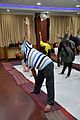 Trikonasana - International Day of Yoga Celebration - NCSM - Kolkata 2015-06-21 7328.JPG