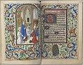 Trivulzio book of hours - KW SMC 1 - folios 076v (left) and 077r (right).jpg