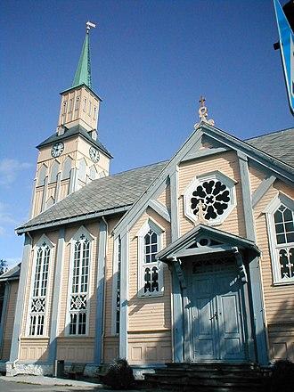 Tromsø Cathedral - Image: Tromsø domkyrkje