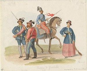 Redshirts (Italy) - Truppa di Garibaldi