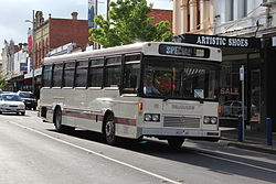 Tullamarine bus in Puckle St, 2012.jpg