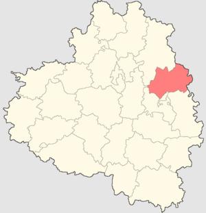 Novomoskovsky District - Image: Tulskaya oblast Novomoskovsk