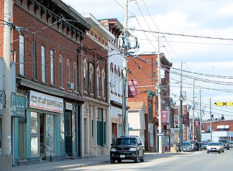 Tweed, Ontario - Main street in Tweed