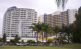 "Les ""Twin Towns"" à Tweed Heads"