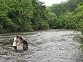 Two kids check their net (9091030779).jpg