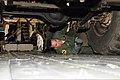U.S. Air Force Tech. Sgt. Tony Perry, with the Hawaii Air National Guard, secures a vehicle to the cargo bay of a C-17 Globemaster III aircraft during exercise Makani Pahili at Joint Base Pearl Harbor-Hickam 130601-Z-UW413-137.jpg