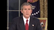 File:U.S. President George W. Bush's address to the nation on Iraqi use of force (March 19, 2003).webm