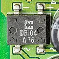 U.S. Robotics Sportster Message Plus - board - Rectron Semiconductor DB104-3138.jpg