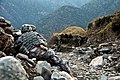 U.S. Soldiers with the 1st Battalion, 32nd Infantry Regiment, 3rd Brigade Combat Team, 10th Mountain Division take cover during an ambush by enemy forces in Lachey village, Shigal district, Kunar province 091207-A-AO884-330.jpg