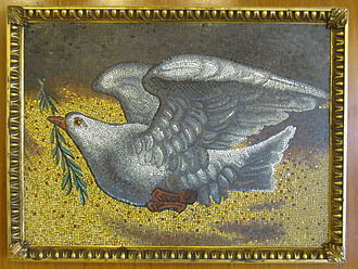 United Nations Art Collection - Dove of Peace, presented by Pope John Paul II, on the occasion of his visit to the United Nations, 2 October 1979.