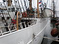 USCGC Eagle docked during Festival of Sail 2008 SF 6.JPG
