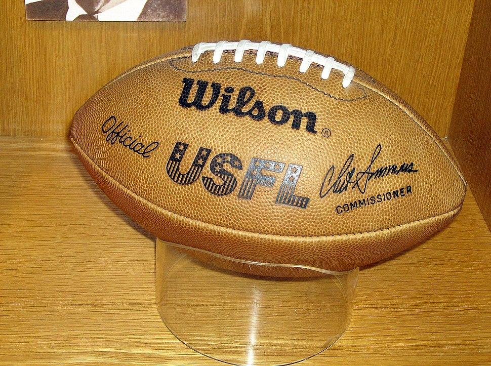 USFL official football