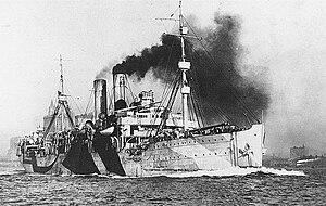 Northern Bombing Group - Image: USS De Kalb (ID 3010), cira 1918